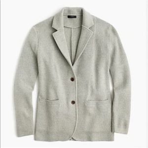 J crew Merino Wool Sweater Blazer